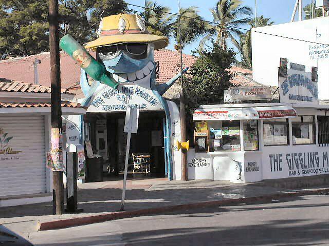 Cabo San Lucas Giggling Marlin bar