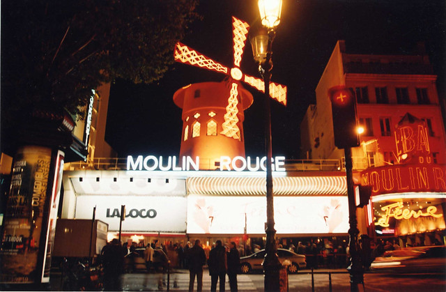 Moulin Rouge Night Club, Paris, France