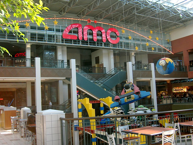 Mall of the americas movie theater