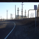 Refinery Between NuStar Tank Farm and Conoco Phillips Refinery