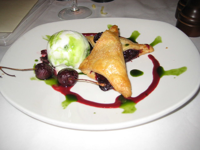 Bing Cherry Turnover with Basil Sorbet | Daniel & Kevin's Ma ...