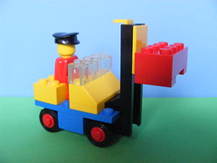 machine, toy block, yellow, play, lego, toy,