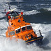Whitby lifeboat  England, working in high seas