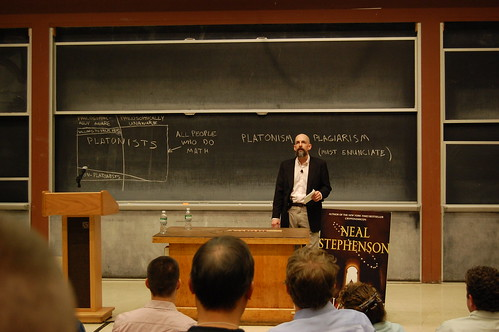 Neal Stephenson Anathem Discussion at MIT
