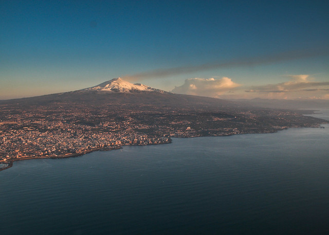 Catania and Mt Etna