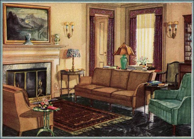 1929 Armstrong Linoleum Ad