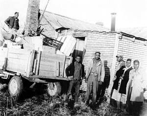 African American tenant farmers in Fayette County, Tenn. were removed from the land where they worked in 1960. They had registered to vote in the segregated south. by Pan-African News Wire File Photos