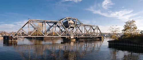 bridge panorama usa ny newyork abandoned rochester brücke verlassen genesseeriver hojackswingbridge