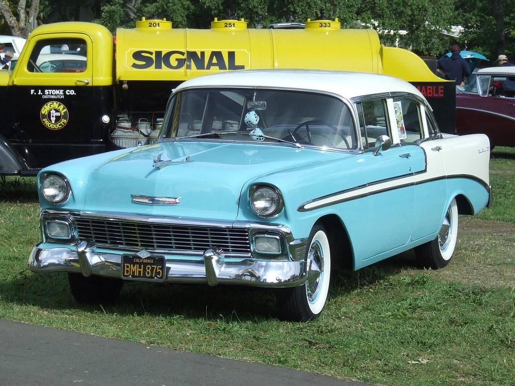1956 chevrolet bel air 4 door sedan 39 bmh 875 39 2 a photo for 1956 chevy 4 door sedan