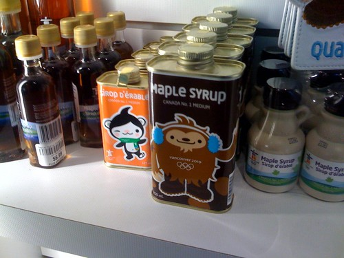 Maple syrup! Sweeet
