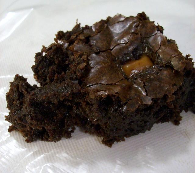 Caramel Brownies With Cake Mix
