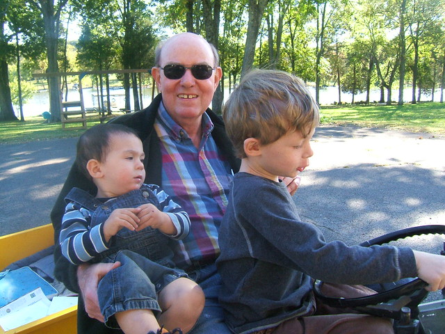Riding with Granddaddy