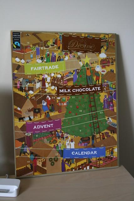 Dark Chocolate Advent Calendar Tesco