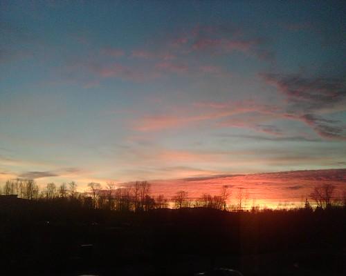 Sunset in Ferndale