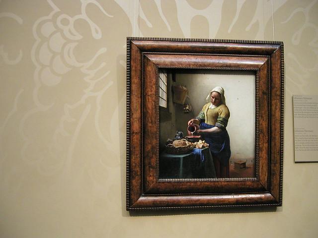 Vermeer Milkmaid Rijksmuseum
