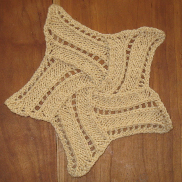 Crochet Entrelac : Entrelac Star with crocheted edging Flickr - Photo Sharing!