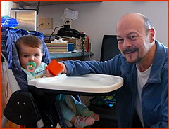 Claire et Grand - Papa