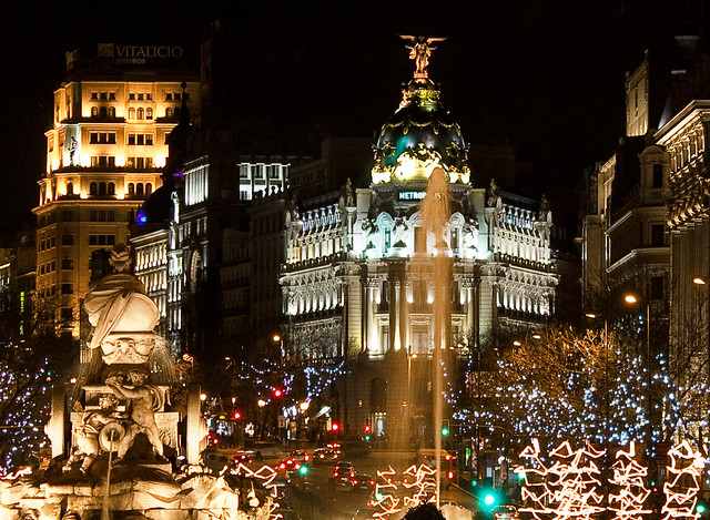 Cibeles contemplando Madrid // Cibeles watching Madrid