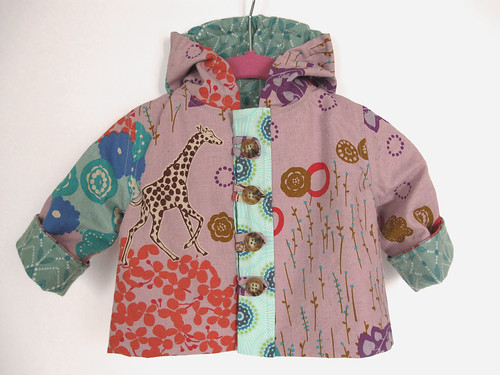Echino jacket {Pattern from Handmade Beginnings by Anna Maria Horner}