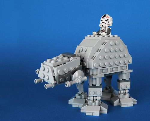 AT-AT MicroFighter by customBRICKS