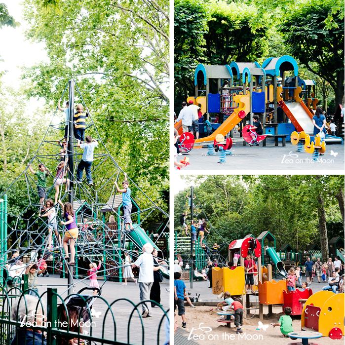 Jardines de Luxemburgo Paris playground