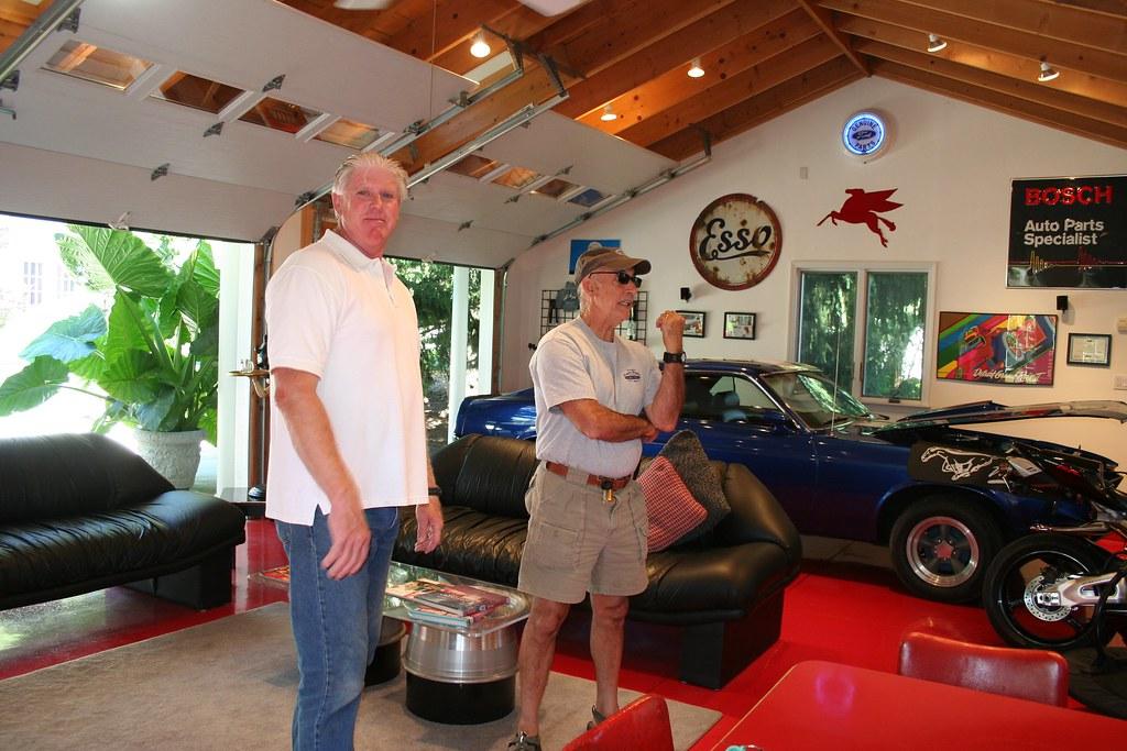 Stephen and Linda's super garage