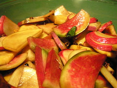 Quick Pickled Radishes and Turnips