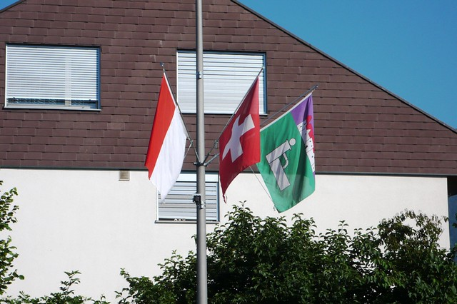 1st August flags
