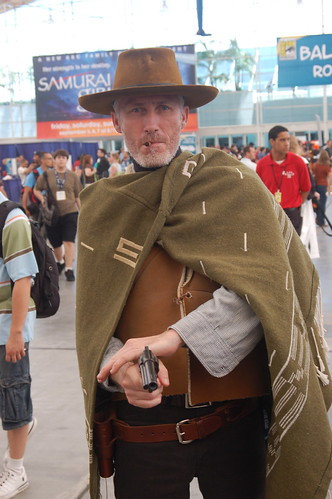 Comic Con 2008: Man with no name