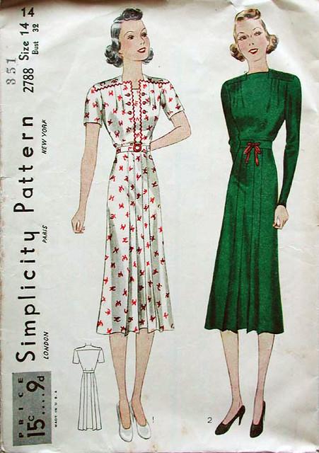 simplicity dress 2788