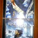 MASTER & COMMANDER: The Far side of the world + Kingdom Of Heaven ORIGINAL VCD DISKS