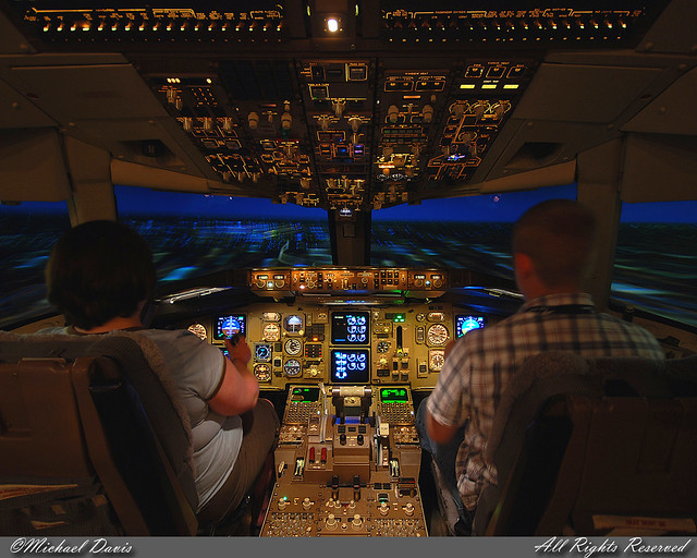 Delta Air Lines Boeing 767-332/ER Simulator (N171DN) | Flickr
