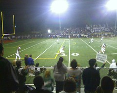 Tyler Receives: Moorpark High School Musketeers vs. Notre Dame High School Knights (Varsity)