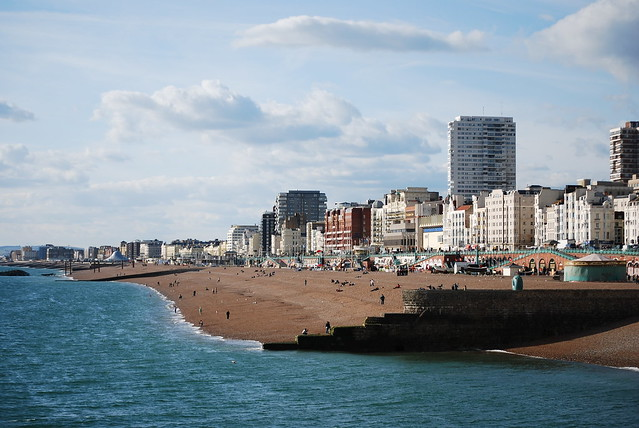 Brighton Seafront from the Pier