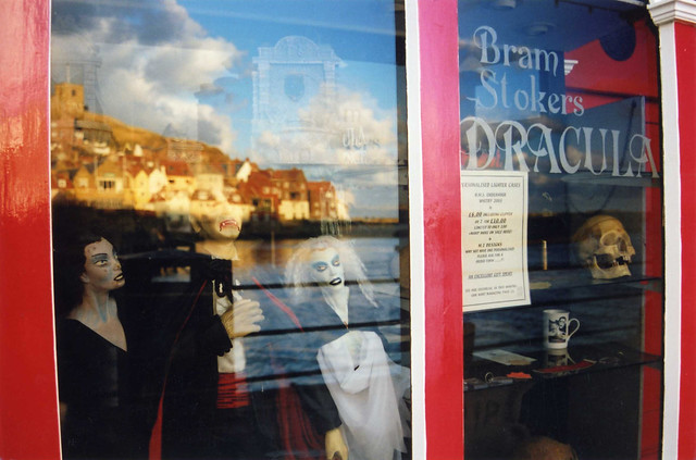 Bram Stoker's Dracula, Museum in Whitby, North Yorkshire