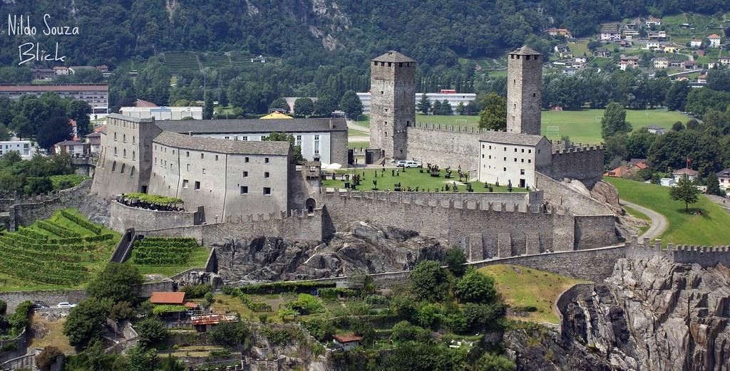 Castelgrande - Bellinzona - TI - Svizzera Switzerland