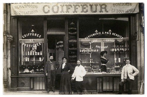 Maison Bouthier, Coiffeur: A Hairdressing Salon From the Belle Époque (c.1910)