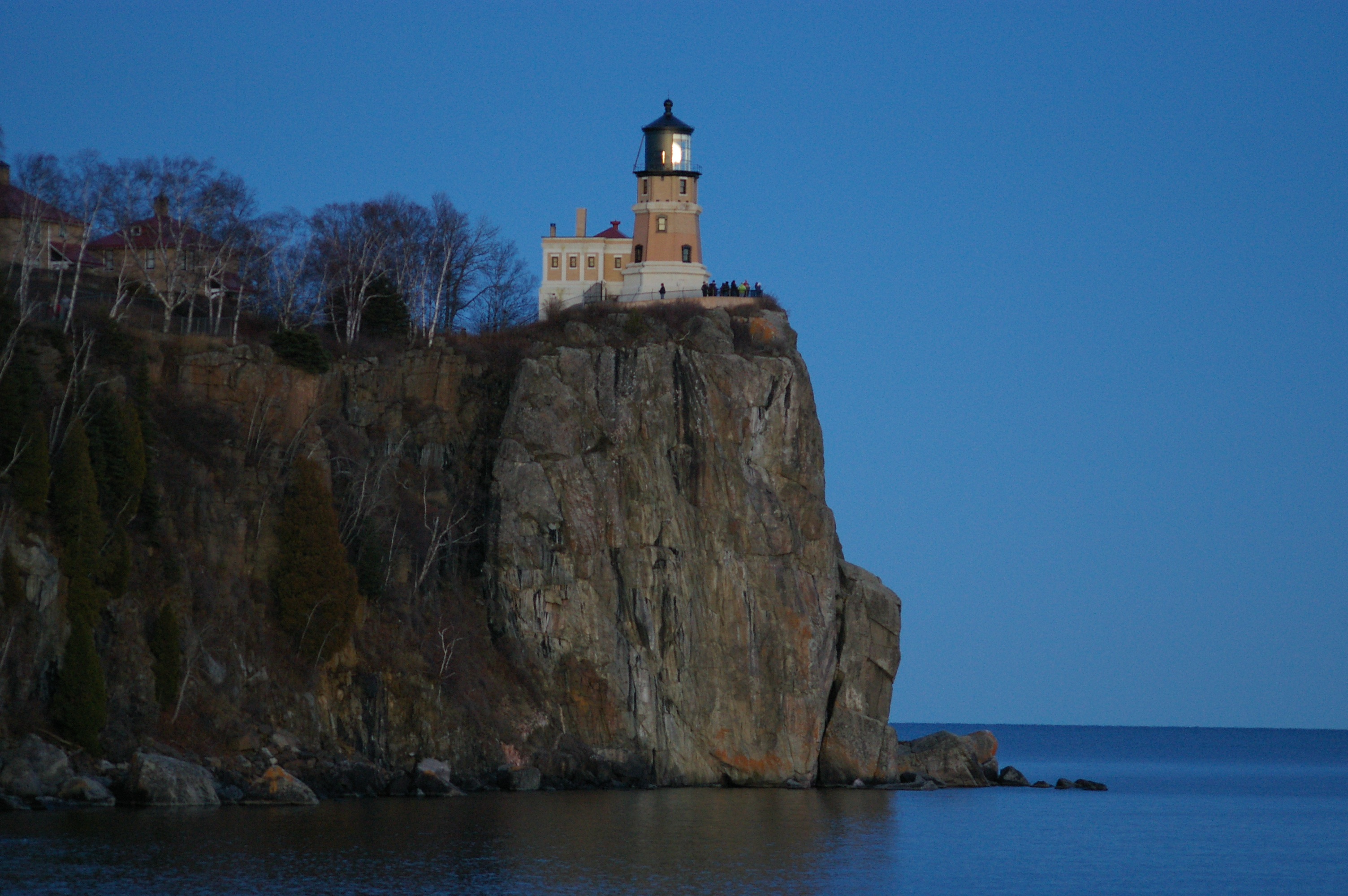 Split Rock Lighthouse & Elevation of Silver Bay MN USA - MAPLOGS