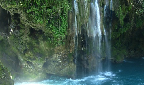 blue fall nature water cascadas