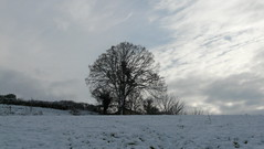 neige et joli ciel