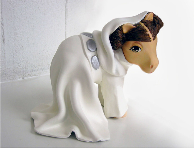 my little Princess Leia pony