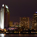 Panoramic San Diego at Night