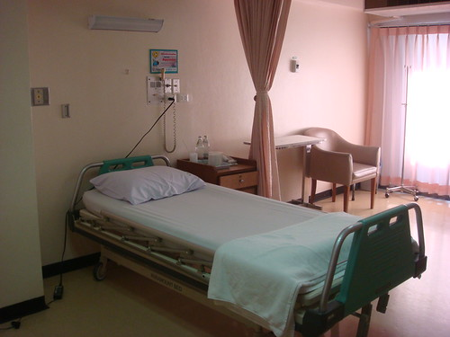 special room for single at bangpakok 1 hospital