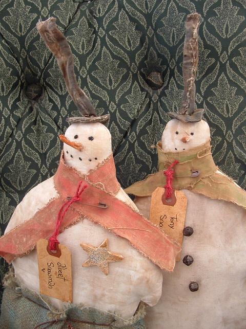 wintery friends