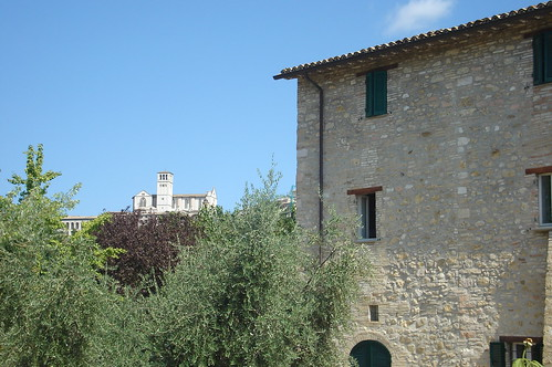 """Ostello della pace, Assisi from the book """"Sui passi di Francesco"""" by Diego Fontana"""