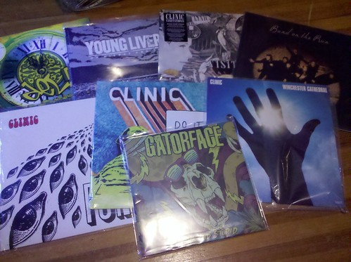 "hottopic.com Vinyl Sale Score - 7 LPs, 1 10"" = $40"