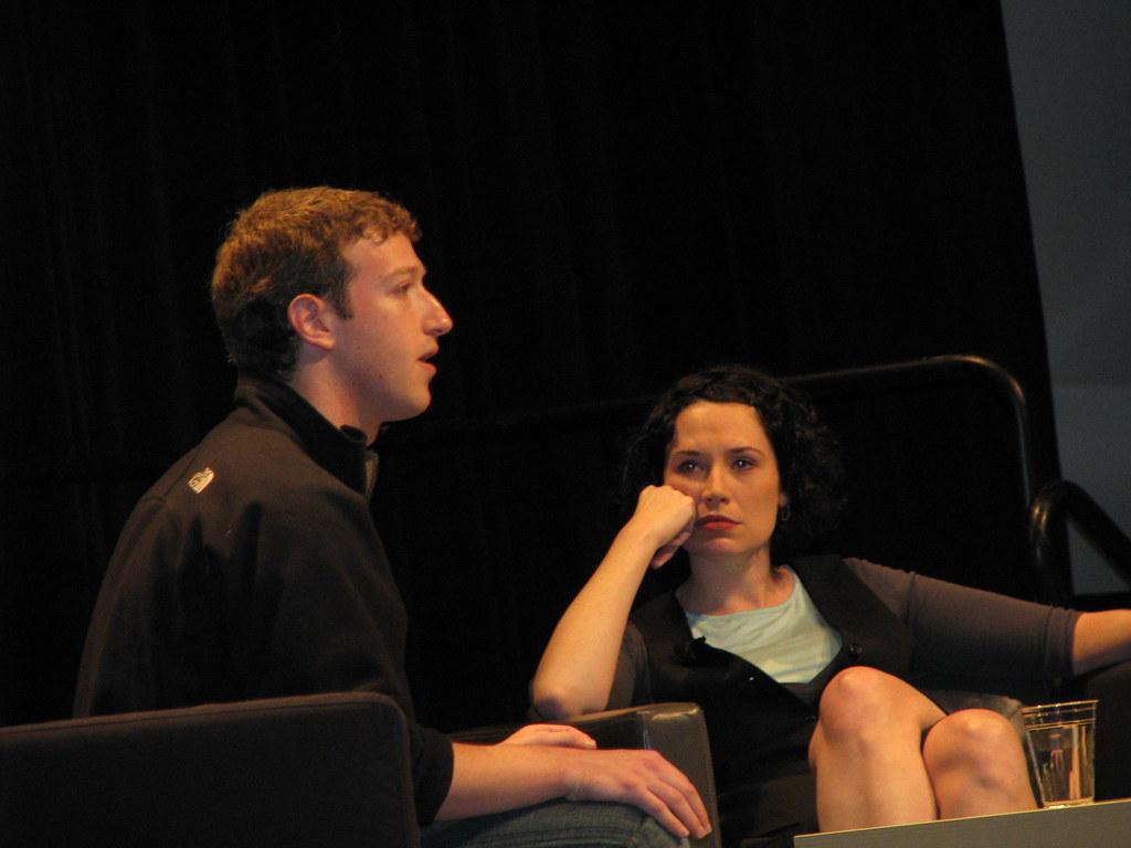Sarah Lacy / Mark Zuckerberg Caption Contest
