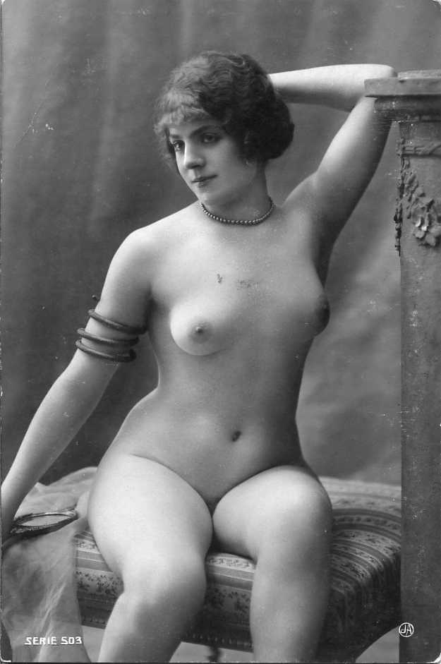 NUDES / NUDE / NUDE WOMEN / NUDE WOMAN - Old Vintage Antique