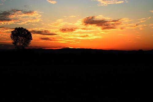 sunset sky sun clouds tramonto cielo crepuscolo scremin81