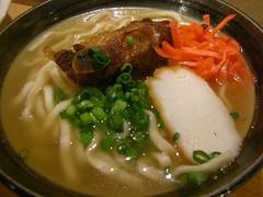 Dinner @ Chanpuruya 半ソーキそば (ちゃんぷるぅ家, 銀座)